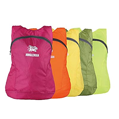 Tofern | Super Lightweight Foldable Backpack Storage Bag Fresh Pure Color Backpack - 5 Colors from JUNGLE MEN