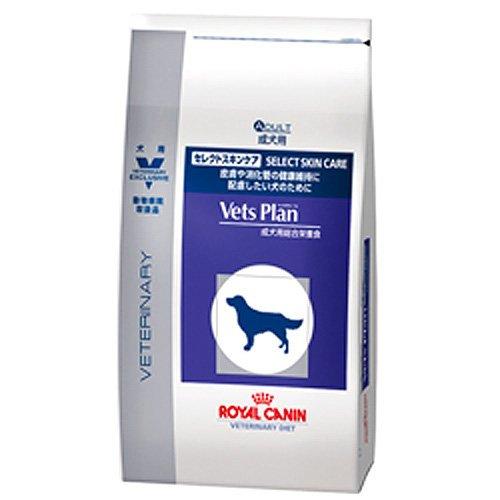 ベッツプラン (Vets Plan) 療法食 ロイヤルカナン Vets Plan セレクトスキンケア ドライ 犬用 3kg