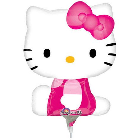 Hello Kitty Mini Shape (side Pose) Anagram Balloons