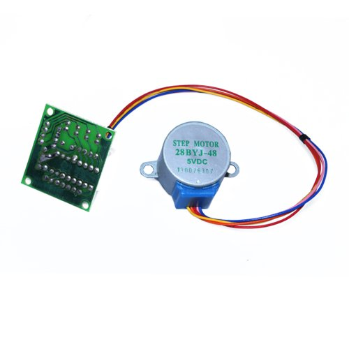 Zitrades Stepper Motor 28Byj-48 Dc 5V 4-Phase 5-Wire Arduino With Uln2003 Driver Board By Zitrades