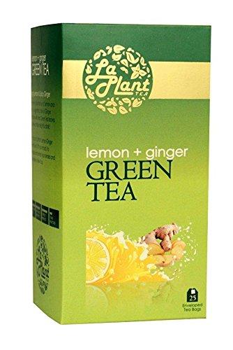 LaPlant Lemon & Ginger Green Tea - 25 Tea Bags