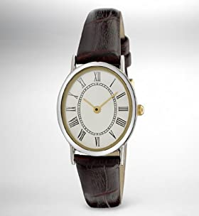 Oval Face Analogue Watch