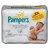 Pampers wipes Sensitive 3 x 56 = 168