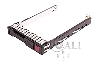 WALI WL-2.5 SFF SAS Sata HDD SSD Drive Carrier Tray for Hp Proliant Gen8 G8 Gen9 G9
