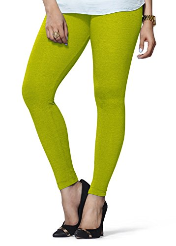 68b8c5c556fe5 Buy Lux Lyra Women's Ankle Length Leggings - Parrot Green on Amazon |  PaisaWapas.com