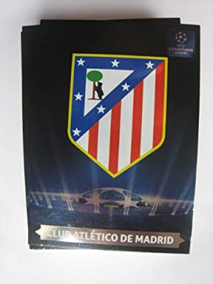 Atletico de MADRID UEFA Champions League Adrenalyn XL 2013 / 2014 Team LOGO