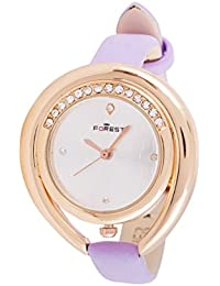 FOREST Gold Dial Analogue Watch For Women By WOOUM-51