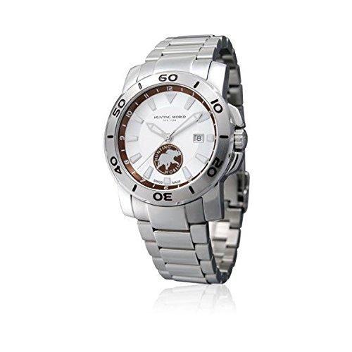 [ハンティングワールド]HUNTING WORLD 腕時計 ホワイトウォーター シルバーダイアル メンズ [並行輸入品]