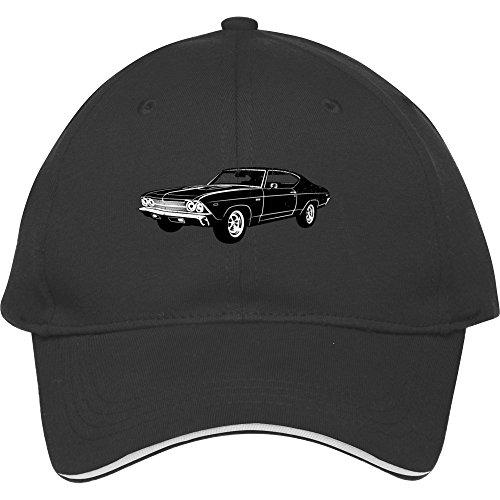 1969-chevrolet-chevelle-396-ss-black-baseball-cap-snapback-cotton-male-female-mabelbennett-hats-adju