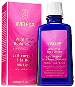 Weleda Wild Rose Body Lotion, 3.4-Fluid Ounce