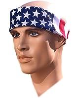 Costume Adventure American Flag Bandana Headband US Bandana For Men USA Bandana