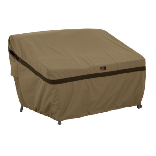Classic Accessories 55-220-042401-EC Hickory Patio Sofa/Loveseat Cover, Large
