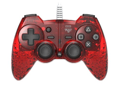 Hori Playstation 3 Gem Pad 3 - Ruby Red