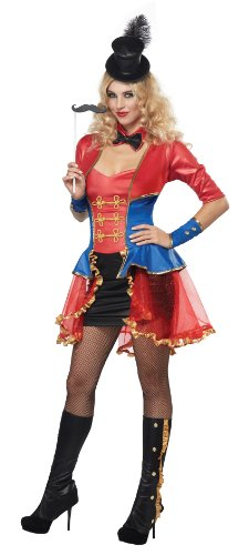 California Costumes Women's Sexy Ringmaster Costume