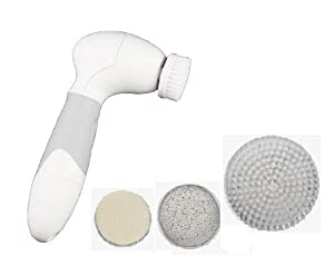 Face and Body Ultra Clean Brush 4-in-1 SPA Cleansing System, Waterproof and Cordless