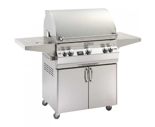 Aurora A660S2L1P62 Standing Digital Lp Grill With Single Side Burner