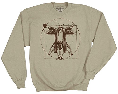 The Big Lebowski Virtuvian Dude Sweatshirt (X-Large)