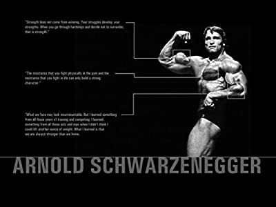 Arnold Schwarzenegger Olympia Bodybuilding Motivational poster 32 inch x 24 inch / 17 inch x 13 inch