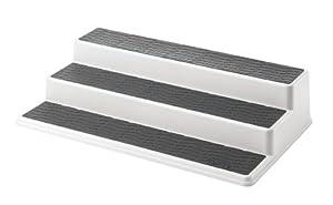 Copco 2555-0188 Non-Skid 3-Tier Cabinet Organizer, 15-Inch