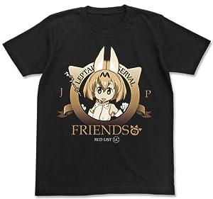 けものフレンズ けものフレンズ Tシャツ ブラック XLサイズ