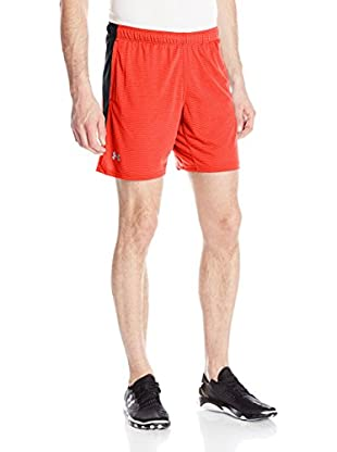 Under Armour Short Entrenamiento Streaker (Rojo)