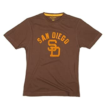 Buy MLB San Diego Padres Retro Logo T-shirt by Wright & Ditson by Wright and Ditson
