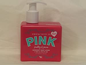 Victoria's Secret Drenched in PINK Pretty & Pure Supersoft Body Lotion 500 ml/16.9 fl oz