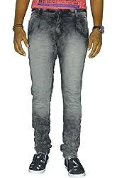 Jugend Grey Stretchable slim fit jeans for men
