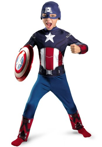 Captain America Movie Classic Costume - Large