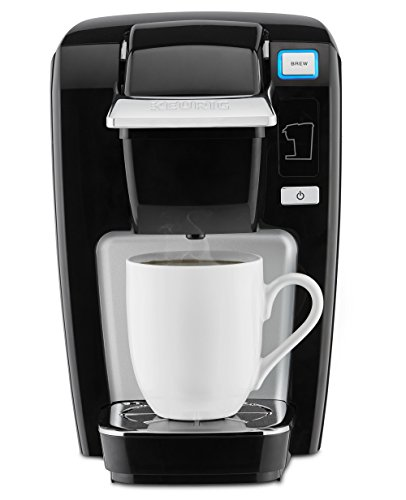 Keurig K15 Single Serve Compact K-Cup Pod Coffee Maker, Black (Keurig Single Cups compare prices)