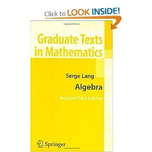 Algebra Serge Lang