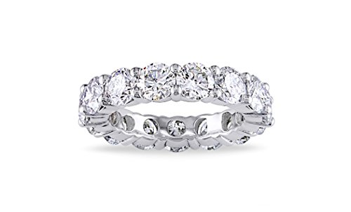 3.00mm Round Cubic Zirconia Luxury Eternity Band (6)