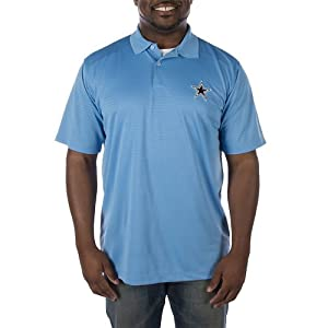 Dallas Cowboys Mens Shadow Polo by Dallas Cowboys