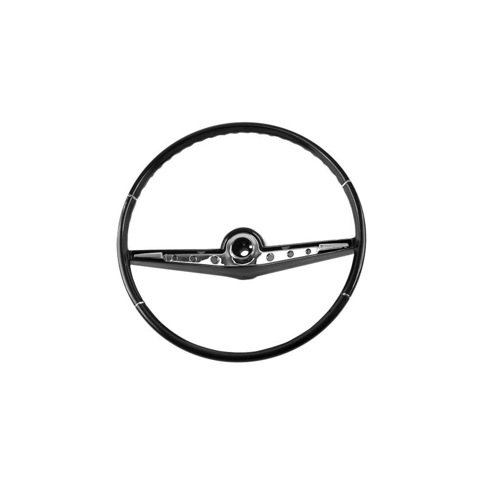 New Chevy Bel Air/Biscayne/Impala Steering Wheel   Black 62