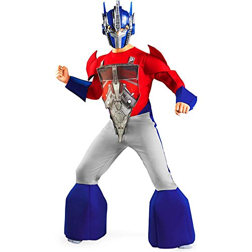 Transformers: Optimus Prime Animated Deluxe Kids Costume