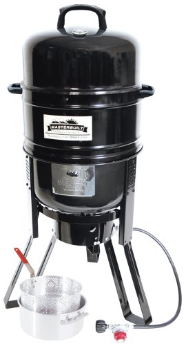 Masterbuilt M7P 7-in-1 Smoker and Grill with Pan and Basket Set (Masterbuilt Smoker Pan compare prices)