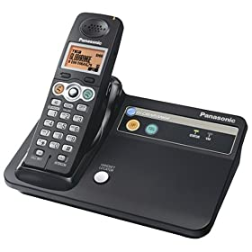 41soHIHqfML. AA280  Panasonic BB GT1500B Globarange Expandable Cordless Telephone   $49 Shipped