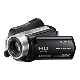 Sony HDR-SR10 4MP 40GB High Definition Hard Drive Handycam Camcorder with 15x Optical Image Stabilized Zoom