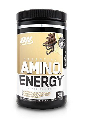 Optimum Nutrition  Amino Energy, Iced Vanilla Latte, 30 Servings