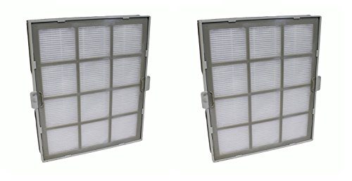 2 pack Replacement Small HEPA filter fits Winix 119010 Size 17 PlasmaWave Air Cleaner models P150, U150, 9300, 9000S and 5000S by LifeSupplyUSA