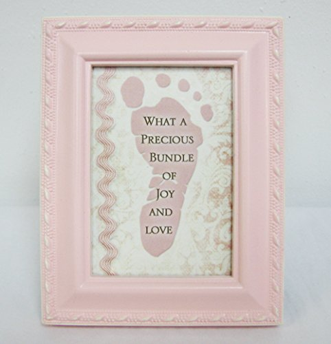 Cottage Garden TF365P Pink Baby Frame - Precious Bundle Footprint