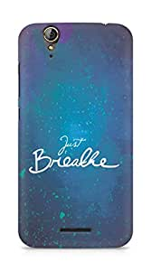 AMEZ just breathe Back Cover For Acer Z630S