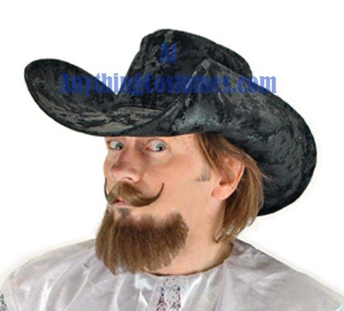 [Hat Musketeer Black] (Three Musketeers Costume)