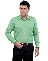 Zeal Men's Cotton Blend Slim Fit Formal Shirt