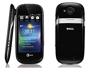 Dell Aero Unlocked Phone with Android OS, 5MP Camera, GPS and Wi-Fi - Black