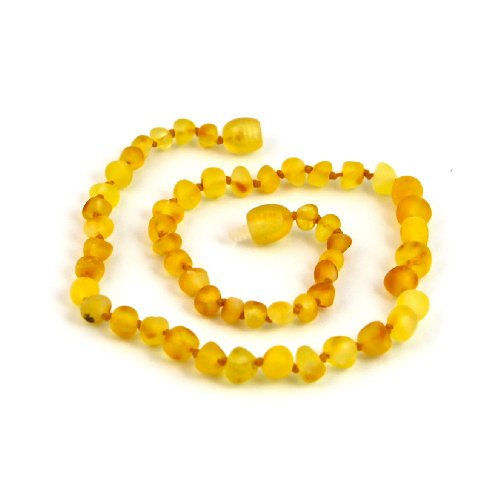 "Hazelaid (TM) 12"" Baltic Amber Lemondrop Necklace - 1"