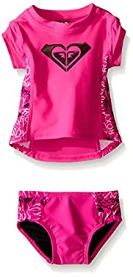Roxy Baby-Girls Pop Logo Rashguard Se…