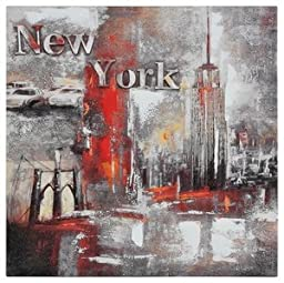 Ren-Wil OL594 Memories of New York Hand-Painted Oil Painting by Pierrick Paradis