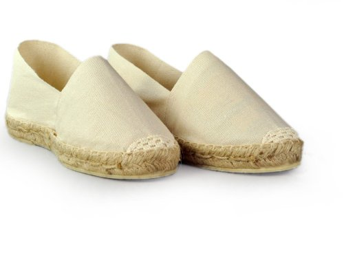 Espadrille-homme-blanc-fabrication-artisanale-made-in-pays-basque-france