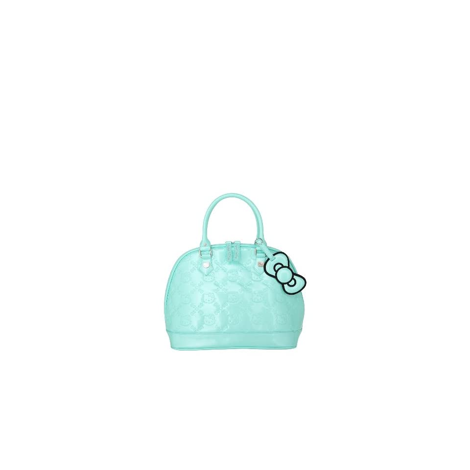 5cc672f75 Loungefly Hello Kitty Mint Patent Embossed Bag on PopScreen